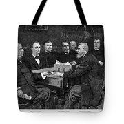 Cleveland Cabinet, 1893 Tote Bag