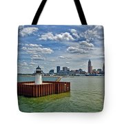 Cleveland Harbor  Tote Bag