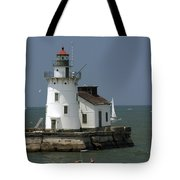 Cleveland Lighthouse Tote Bag