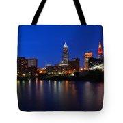 Cleveland Panorama Tote Bag