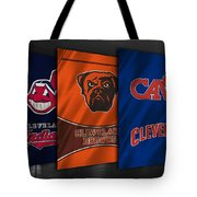 Cleveland Sports Teams Tote Bag