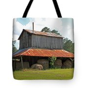 Clewis Family Tobacco Barn Tote Bag