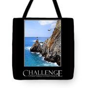 Cliff Divers Of Acapulco Tote Bag