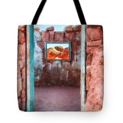Cliff Dwellers Near Lee's Ferry Tote Bag
