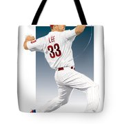 Cliff Lee Tote Bag