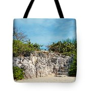 Cliff Stairs 2 Tote Bag