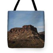 Cliffs Above Apache Lake Tote Bag