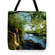 Cliffs And Trees Along Malanaphy Tote Bag