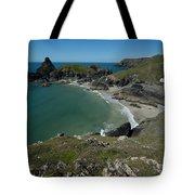 Cliffs In Bretagne Tote Bag