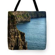 Cliffs Of Moher Clare Ireland Tote Bag