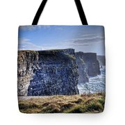 Cliffs Of Moher - Late Afternoon Tote Bag