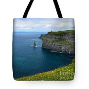Cliffs Of Moher Looking North Tote Bag