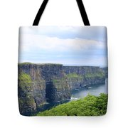 Cliffs Of Moher Panorama 3 Tote Bag