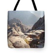 Cliffs Of Mount Sinai Tote Bag