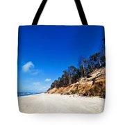 Cliffs On A Sunny Beach Tote Bag