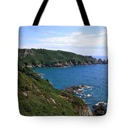 Cliffs On Isle Of Guernsey Tote Bag