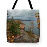 Cliffside Fall Splendor Tote Bag