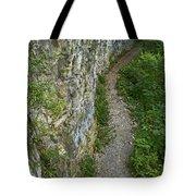Cliffside Path Tote Bag