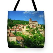 Cliffside Village Tote Bag