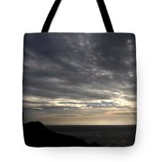 Clifftop Silhouettes Tote Bag