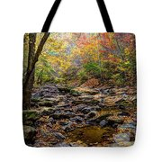 Clifty Creek In Hdr Tote Bag by Paul Mashburn