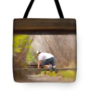 Climb On Over Tote Bag