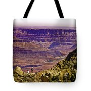 Climbing In Grand Canyon Tote Bag