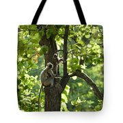 Climbing Lessons Tote Bag