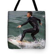 Climbing The Wave Tote Bag