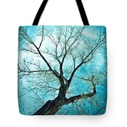 Climbing Up To The Heavens Tote Bag