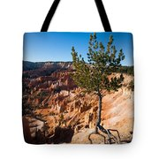 Clinging To The Edge Bryce Canyon Tote Bag