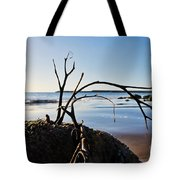 Clinging To The Rocks Tote Bag