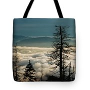 Clingman's Dome Sea Of Clouds - Smoky Mountains Tote Bag