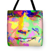 Clint Eastwood Abstract 01 Tote Bag