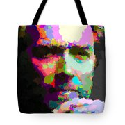 Clint Eastwood - Abstract Tote Bag
