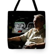 Clint Eastwood As Walt Kowalski In The Film Grand Torino - Clint Eastwood - 2008 Tote Bag