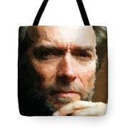 Clint Eastwood Portrait Tote Bag
