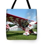 Clipped Wing Cub Tote Bag