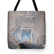Clipper In Mist Tote Bag