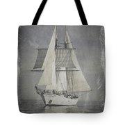 Clipper Under Sail Tote Bag