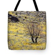 Cloaked In Yellow Tote Bag