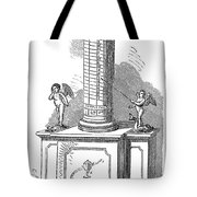 Clock Clepsydra Tote Bag