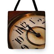 Clock Face Tote Bag