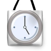 Clock Five Tote Bag