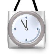 Clock Five Mintures Before Twelve Tote Bag