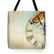 Clock Five To Twelve Tote Bag