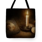 Clock - Memories Eternal Tote Bag by Mike Savad