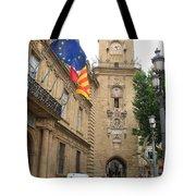 Clock Tower Aix En Provence Tote Bag