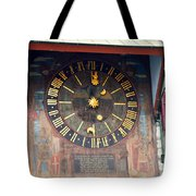 Clock Tower In Solothurn Tote Bag