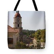 Clock Tower - Rhodos City - Roloi Tote Bag